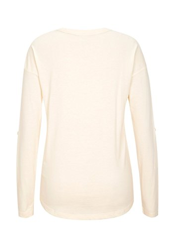 S.Oliver Girl's 66.409.31.5505 Long Sleeve Top, Off-White (White Wool), 15 Years (Manufacturer Size: X-Large)