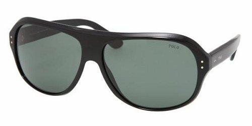 Polo PH4046 Shiny Black/Grey Green Sunglasses (PH4046-500171-64-14-135)