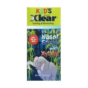Kid's Saline Nasal Spray, With Xylitol, .75 fl oz (22 ml)