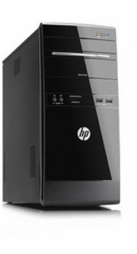 HP G5221de Desktop-PC (Intel Core 2 E5500, 2,8GHz, 4GB RAM, 1TB HDD, NVIDIA G315, DVD, Win7 HP) schwarz