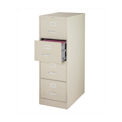 OfficeMax Four-Drawer Commercial Vertical File,