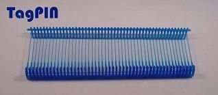 Kunststofffäden standard tagPin 10.000 fils de 25 mm (bleu)