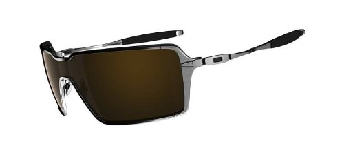 Oakley Probation Sunglasses Brushed Chrome / Dark Bronze