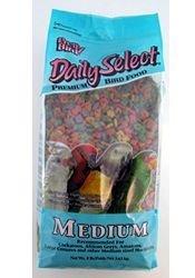 Pretty Bird International Bpb78117 Daily Select Premium Bird Food, Medium, 8-Pound