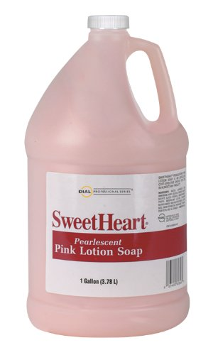 Dial 1756301 Sweetheart Pink Lotion Hand Soap, 1 Gallon Bottle (Pack of 4) (Dial Pink Soap compare prices)