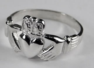 The Classic Sterling Silver Claddagh Ring... Made in America
