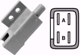 Lawn Mower Plunger Interlock Switch Replaces Bobcat/Ransom 108208