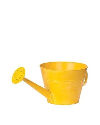 Skalny Tin Water Can Planter, Yellow