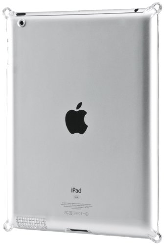 Simplism Japan Crystal GABAN Hard Cover for iPad 2 - Crystal Clear (TR-CGSIPD2-CC/EN)