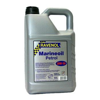 5 Liter Ravenol Marineoil Petrol SAE 20W-50 -