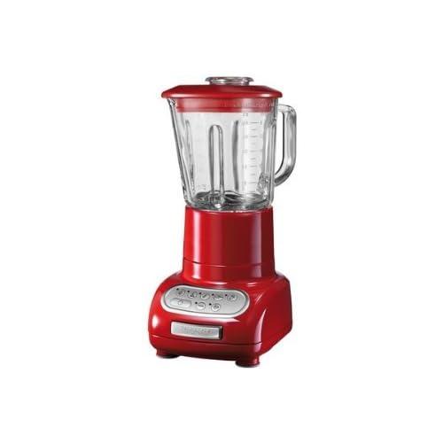 Kitchenaid 5KSB555EER Standmixer, Artisan-Serie, rot