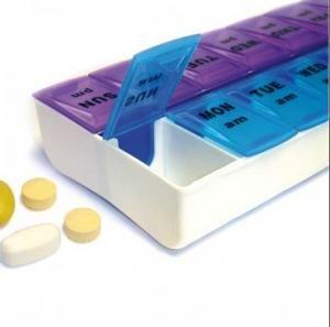 Fortuna Healthcare Boite à Pilules Pilulier 14 Compartiments