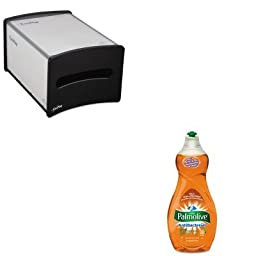 KITCPM46113EAGEP54510 - Value Kit - Georgia Pacific EasyNap Countertop Napkin Dispenser (GEP54510) and Ultra Palmolive Antibacterial Dishwashing Liquid (CPM46113EA)