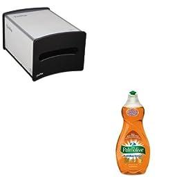 KITCPM46113EAGEP54510 - Value Kit - Georgia Pacific EasyNap Countertop Napkin Dispenser (GEP54510) and Ultra Palmolive Antibacterial Dishwashing Liquid (CPM46113EA)