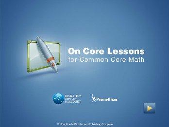 Promethean ONCOREMATH-ELEM-2-CL On Core Math Elementary 2