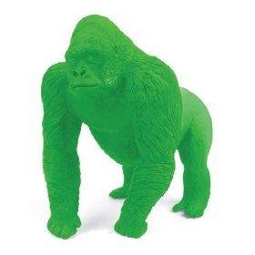 Green Science Endangered Wildlife Giant Gorilla Pencil Eraser