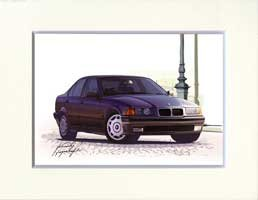 KEN-1(イラスト): BMW E36/3シリーズ