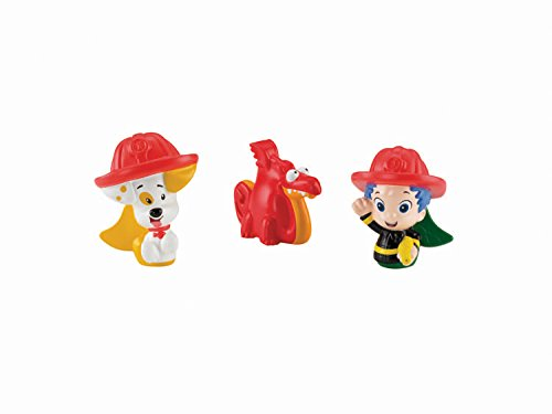 Fisher-Price Nickelodeon Bubble Guppies Gil, Bubble Puppy and Water Dragon Bath Squirters Toy - 1