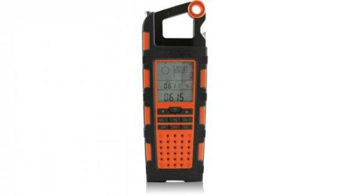 Eton NSP200WXOR Raptor Solar USB Charger and Weatherband Radio (Orange)