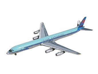Gemini Jets DC-8-61 Trans Caribbean Diecast Vehicle, Scale 1:250
