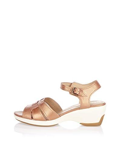 Geox Sandalo Con Tacco D Gail