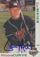 Dan Meier Altoona Curve - Pirates Affiliate 2002 Grandstand Autographed Hand Signed... by Hall of Fame Memorabilia