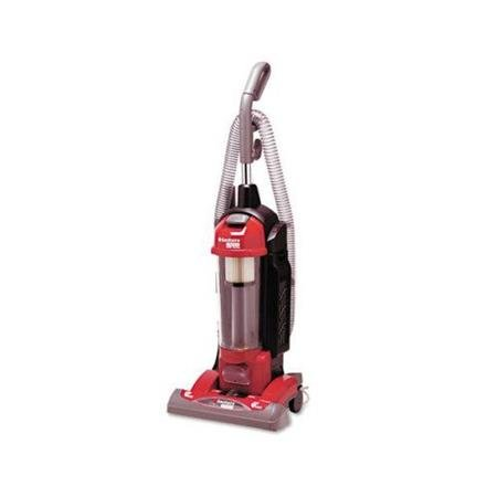 Electrolux Sanitaire Sanitaire True Hepa Commercial Bagless/Cyclonic Upright Vacuum, Red
