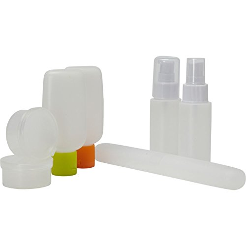 High Road Smooth Trip Carry-On Travel Bottle Set (Clear)