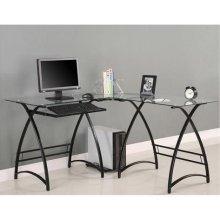 Buy Low Price Comfortable Glass L-Shaped Computer Desk – Walker Edison D51AL30CB (B004B361ZU)