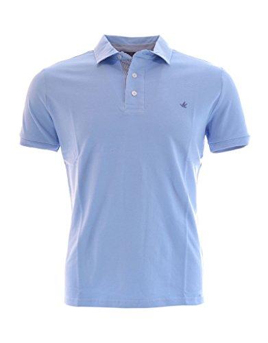 BROOKSFIELD Polo uomo (S, Azzurro)