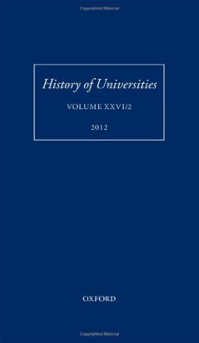 History of Universities: Volume XXVI/2