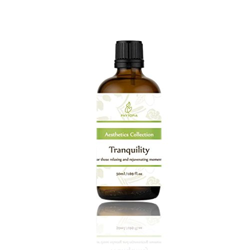 Tranquility Essential Oils for Anxiety & Stress Relief - VCRP Approved, 100% Pure & Natural - Therapeutic Grade for Calming & Peace - 1.7 fl oz/ 50ml