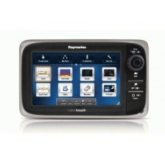 Raymarine e7D 7-Inch Widescreen Multifunction Display with Built-In Fishfinder by Raymarine