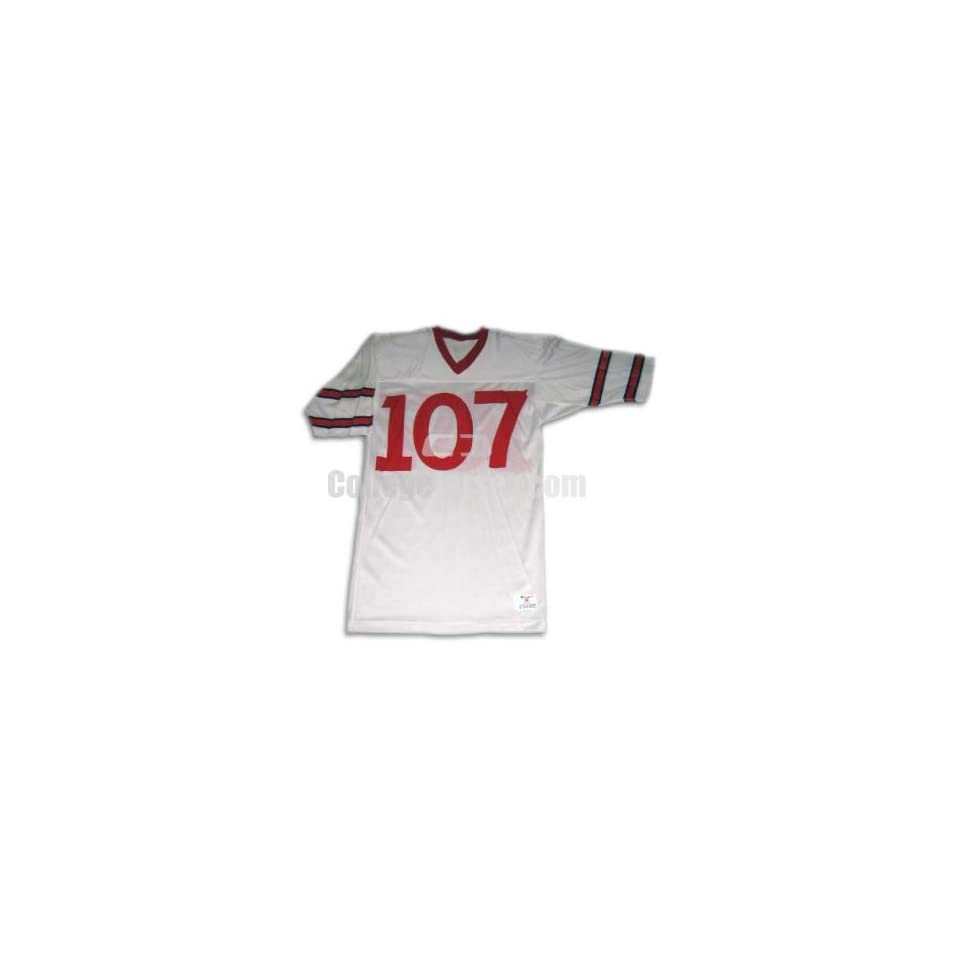 . 107 Team Issued Cornell Football Jersey (SIZE M)