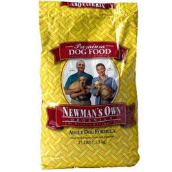 Newman's Own Organics Dog Food Adult Chicken & Brown Rice Formula Dry, 25-pounds (Pack of1)