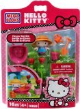 Hello Kitty Mega Bloks Set #10923 Flower Garden - 1