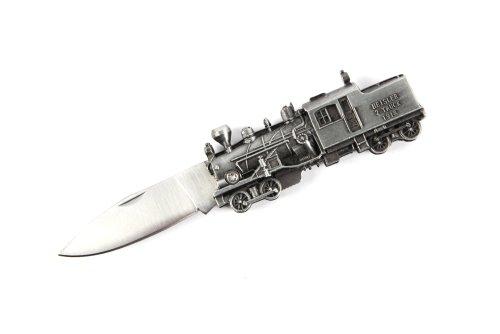 Wartech YC30709 Train Design Gift Folding Pocket Knife