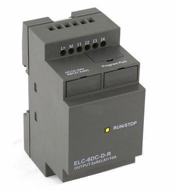 Plc 4 Input And 2 Relay Output, Hardware, Rs232 Programming Interface W Cable & Software. Programmable Logic Controller 120/240Vac