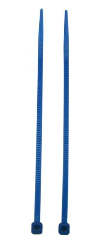 Chuzhao Wu Blue 4 Inches Nylon Cable Ties Self Locking Wire Zip Tie Cord Electrical(Pack Of 200)