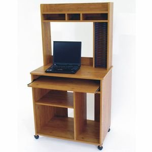 Buy Low Price Comfortable Home Office Computer Desk Contemporary Style in Country Pine Finish (B002WJUSQ8)