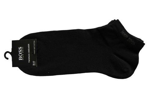 BOSS Sneaker-Socken ´Twopack Sneaker` im 2er Pack (43/46, Schwarz) thumbnail