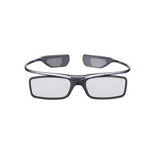 Samsung SSG-3700CR 3D Active Glasses - Black (Compatible with 2011 3D TVs)