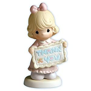 Amazon Com Precious Moments Figurine Thank You Sew Much