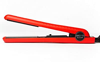 Professional Ceramic Flat Iron - Hair Straightener by Studio 105 - Designed for All Hair Types