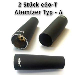 2X eGo-T Elektronische zigarette Atomizer-Verdampfer Type A