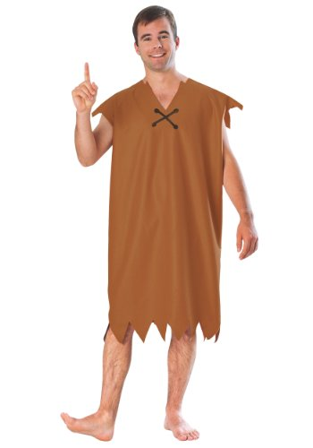 Rubies Barney Rubble Adult Costume. Standard or X-Large. Become Fred's best friend and neighbour.