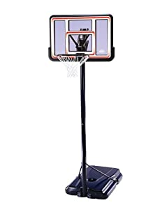 """Lifetime 1269 Pro Court Portable Basketball System with 44"""" Acrylic Fusion Backboard"""
