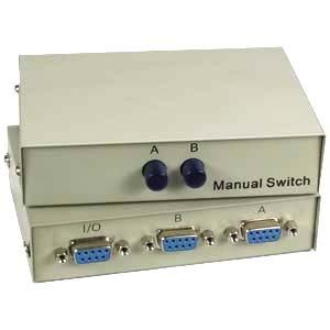 InstallerParts DB9 2Way Manual Switch