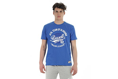 RUSSELL ATHLETIC T-SHIRT UOMO CON STAMPA A60341169P6-M