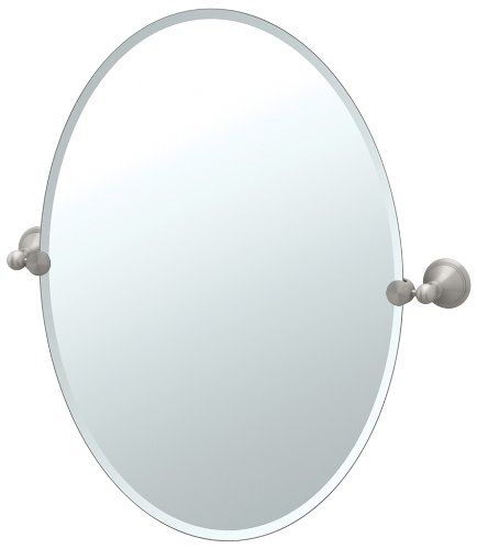 Gatco Laurel Ave Tilting Large Oval Wall Mirror (Beveled) 4599Lg front-633250